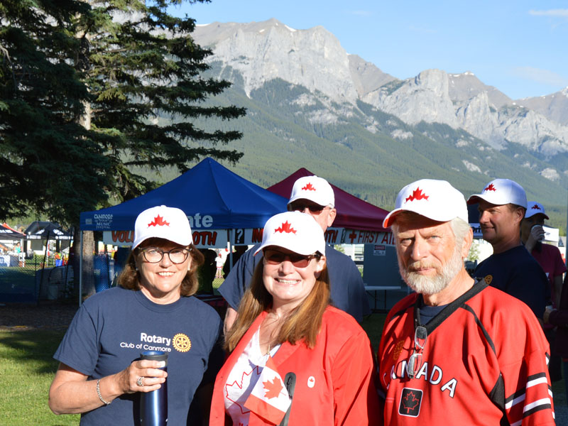 Volunteer locally with Rotary Club of Canmore