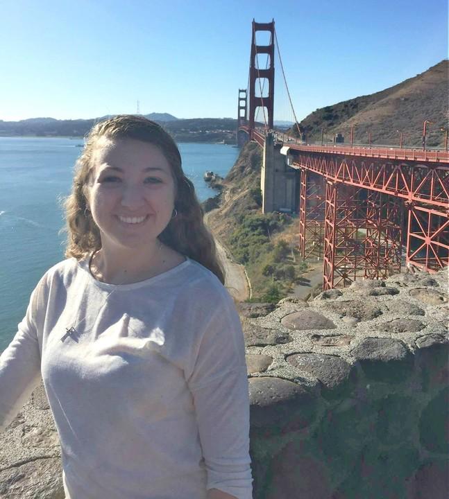 Rebecca Davies in San Francisco