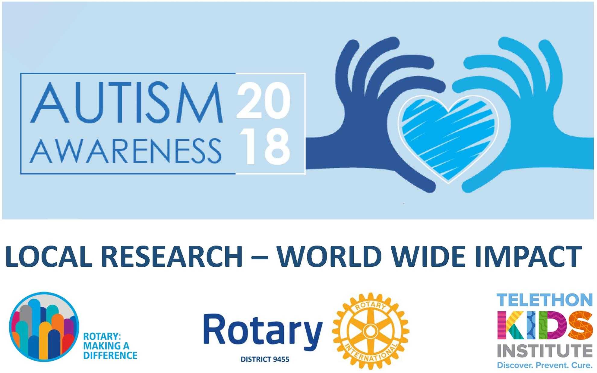 Autism Awareness Day 2018   Rotary Club of Scarborough