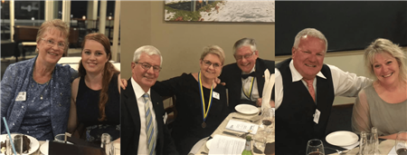 Members at Change Over Dinner