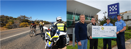Wild West Bike Tour Fundraising for Police Legacy & the Community