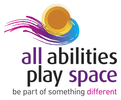 The All Abilities Play Space logo