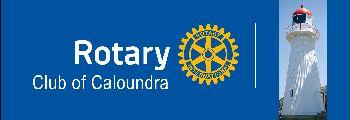 Caloundra Rotary banner
