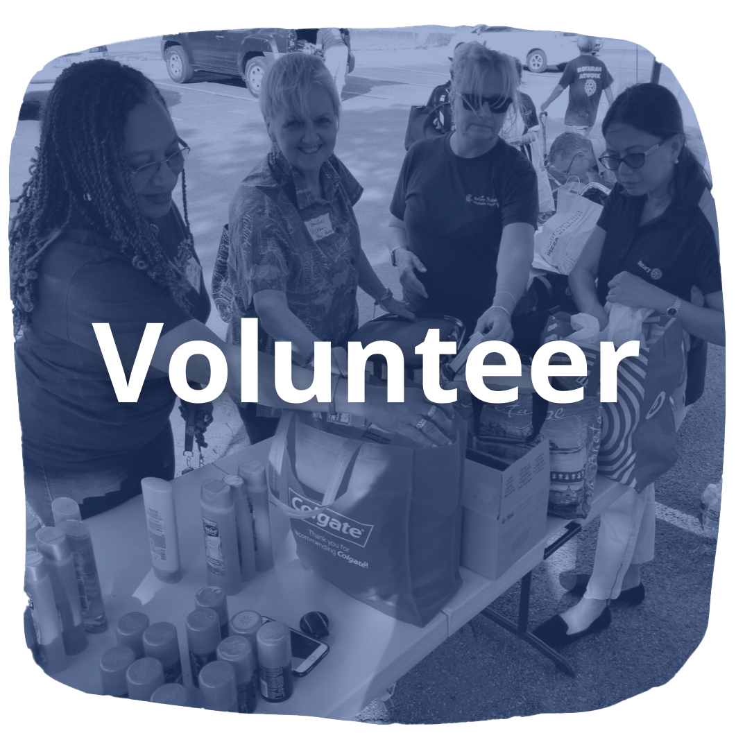 Become a volunteer with RotaryHPH!
