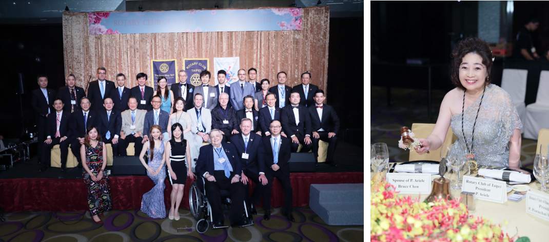 Celebrating 71 years of Rotary in Taiwan!