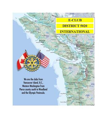 Rotary E-Club District 5020