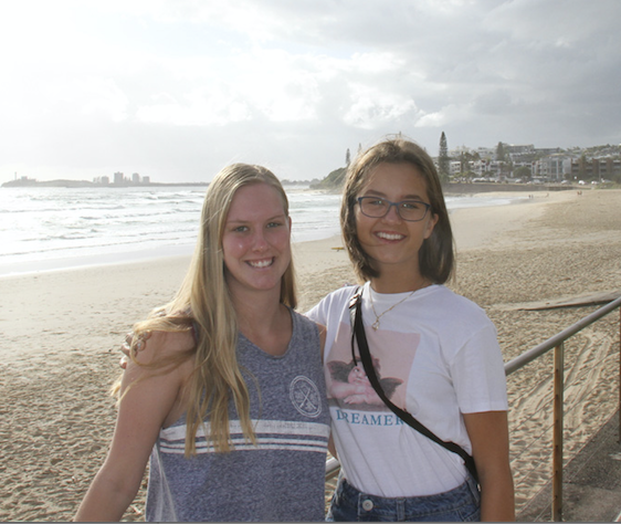 Exchange Students - Chloe and Amy