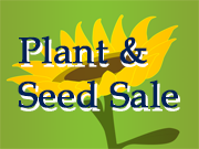 Plant & Seed Sale date change!