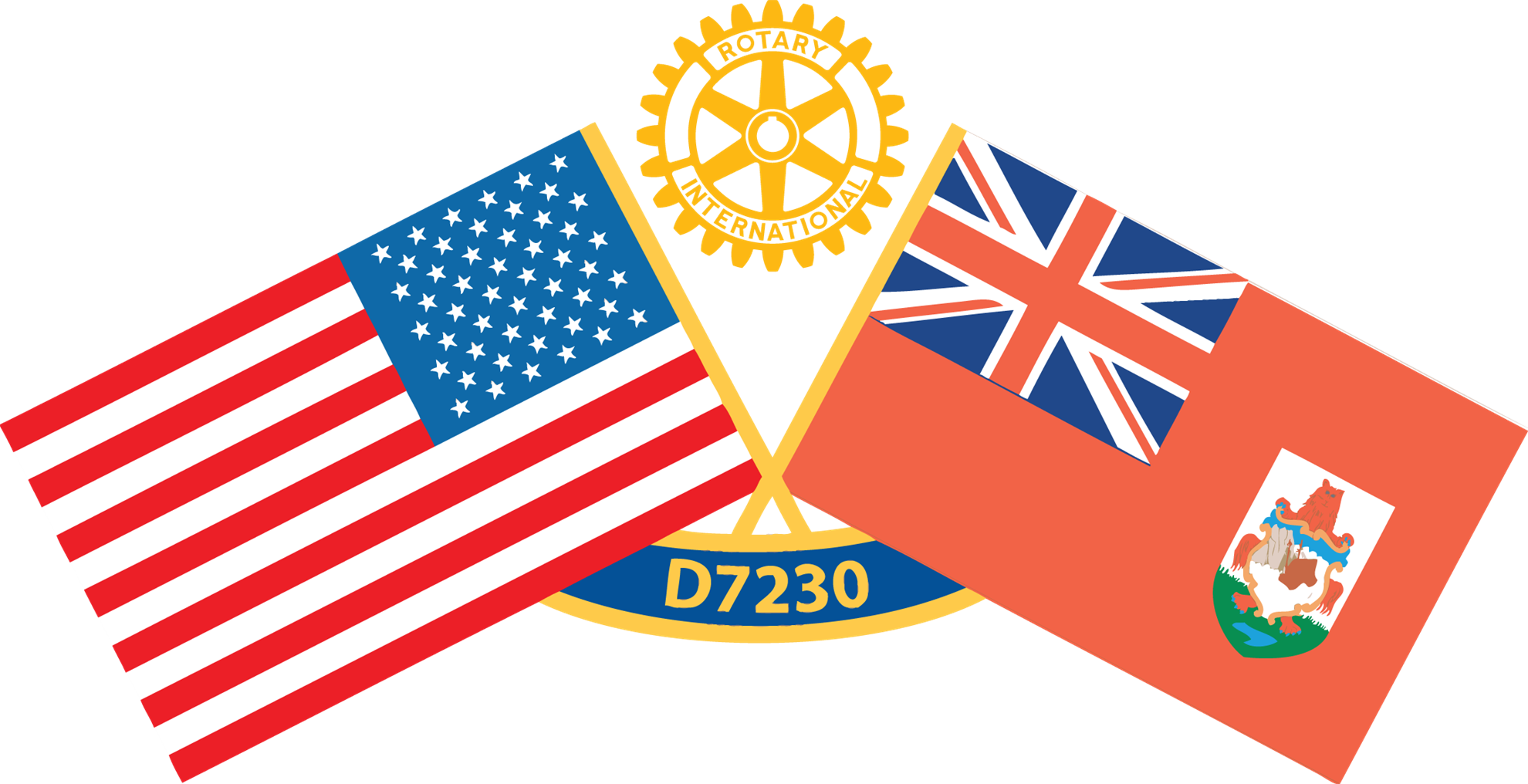 Official Logo for Rotary District 7230