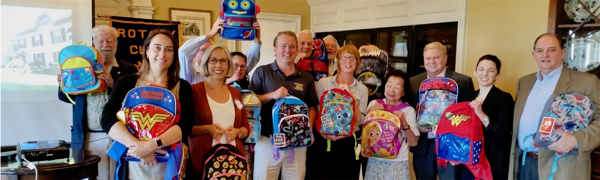 Backpacks for APAH Kids