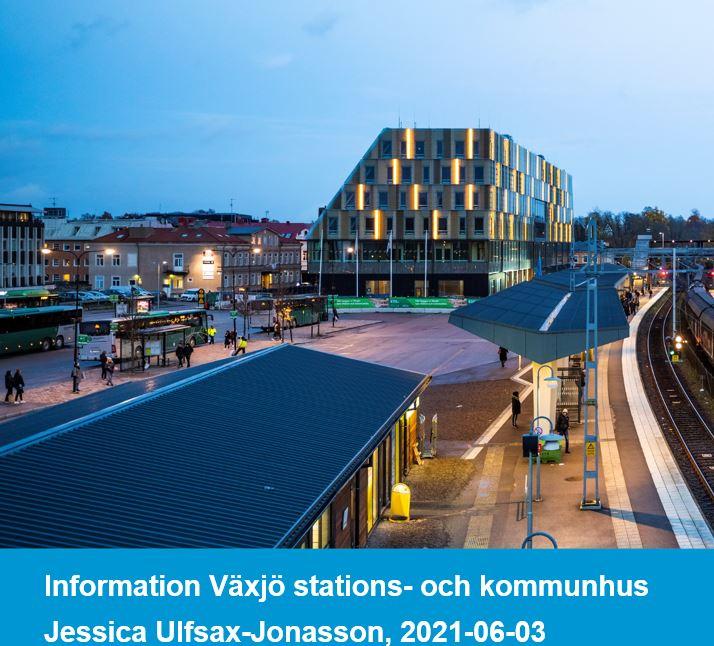 Växjö stations- och stadshus