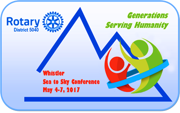 District 5040 Conference logo