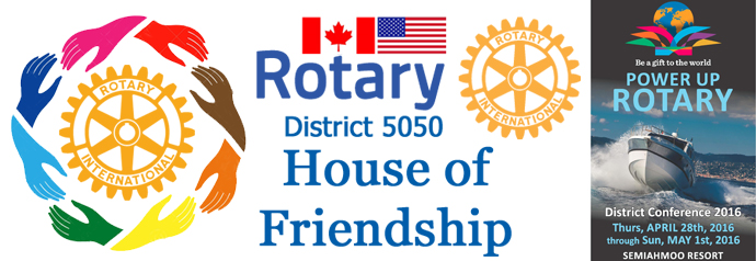 House Of Friendship Rotary District 5050