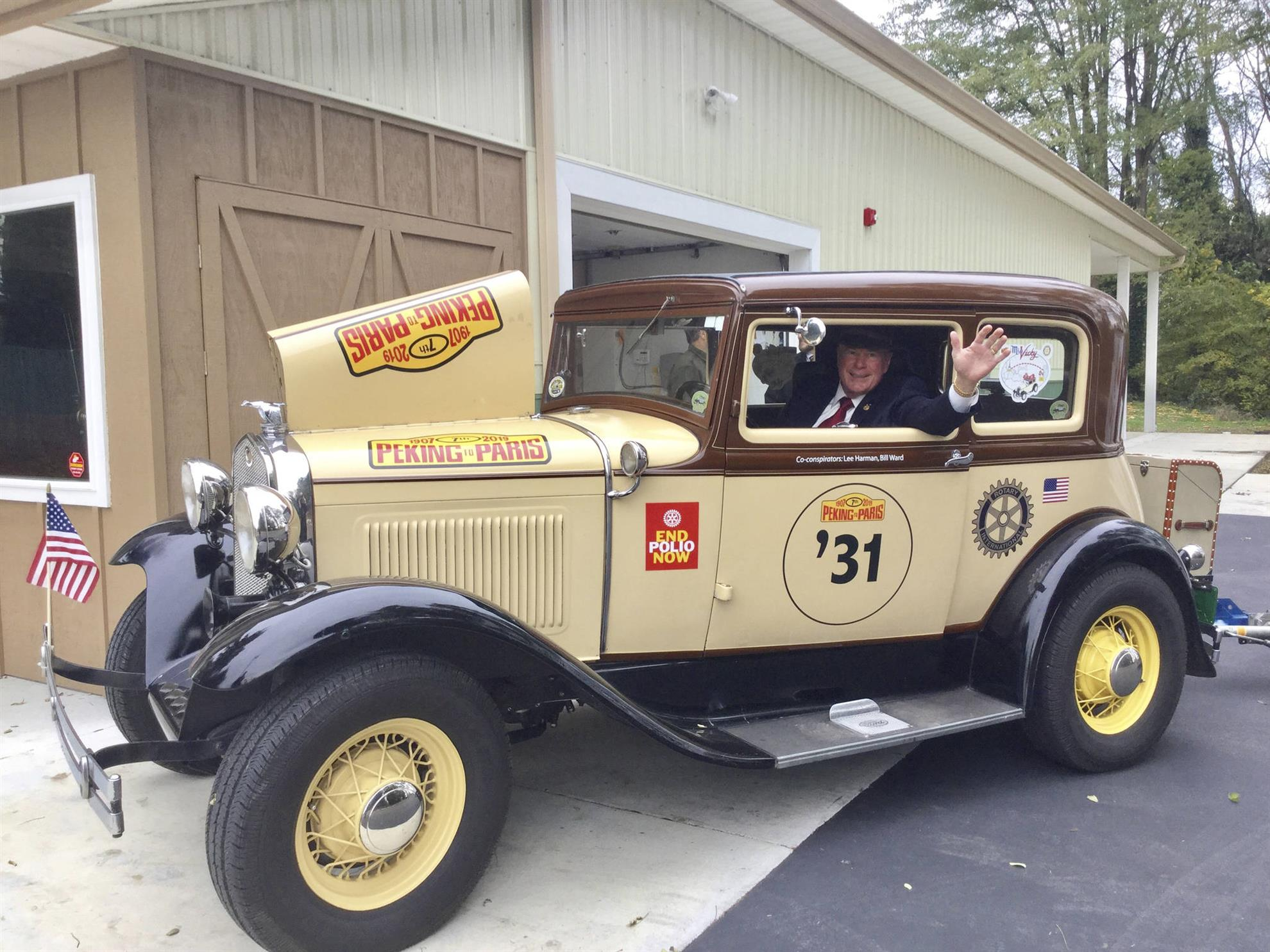 Home Page Rotary Club Of Semiahmoo White Rock Wall Clock Governor Driver Around The World With A Bunch Like Minded Enthusiasts Against Makes This Rally One Toughest Driving Challenges For Vintage Cars