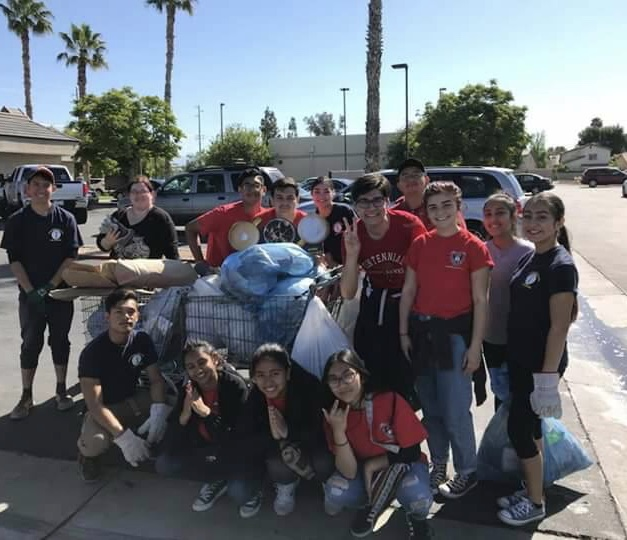 Youth At Great America Clean Up Rotary District 5240
