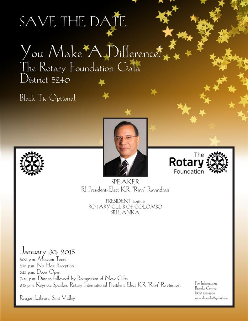2015 Gala Flyer