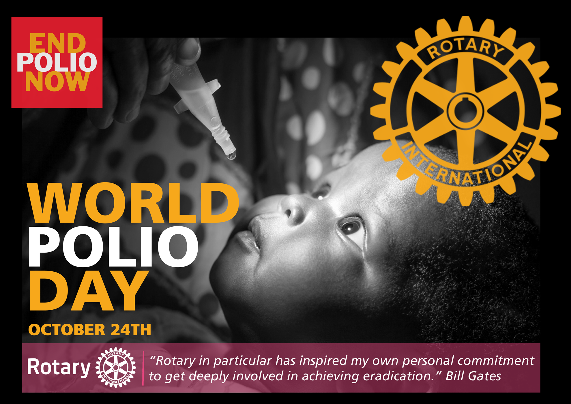 World Polio Day Is October 24 | Rotary District 5280