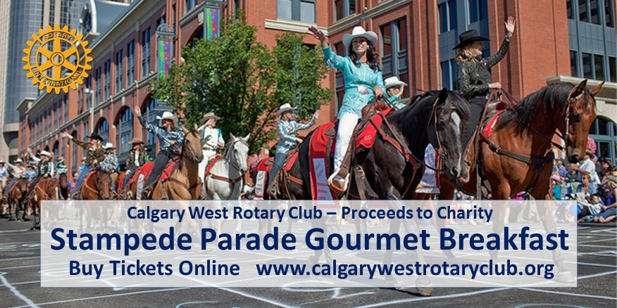 Stampede Parade And Breakfast Fri Jul 6 Calgary Rotary