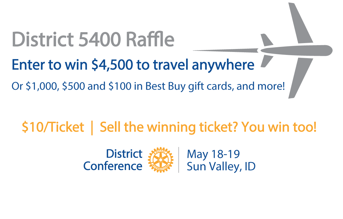 District 5400 Raffle | Rotary District 5400