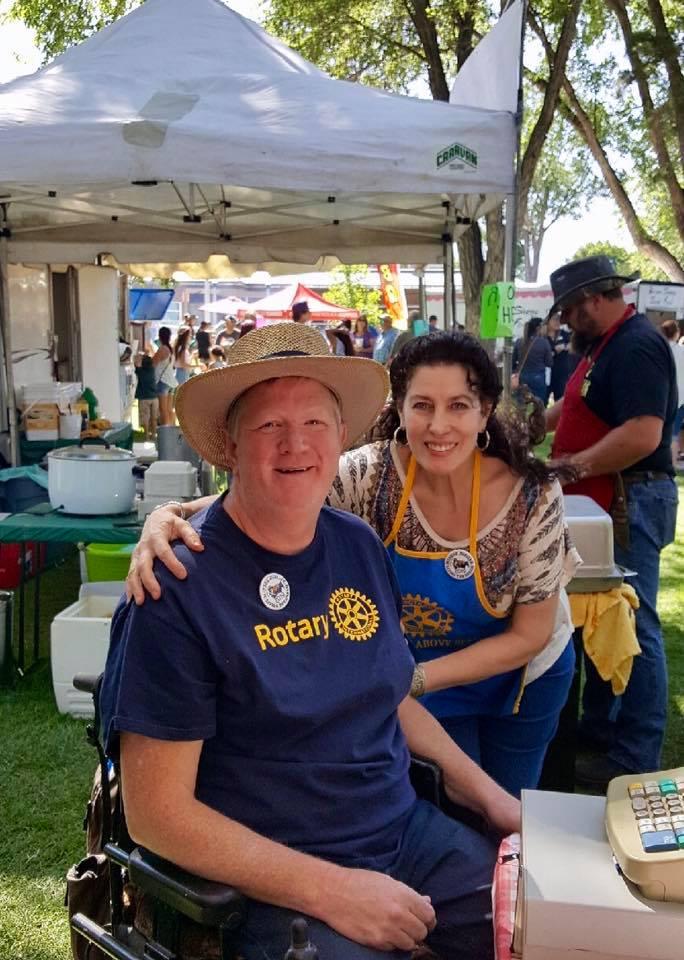 Baker City Rotary Club ~ Annual Buffalo Burger Sale   Rotary
