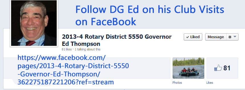Visit Ed at FaceBook