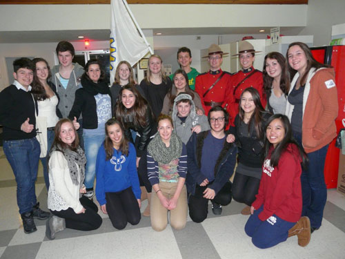 Exchange Melfort 2013 Students