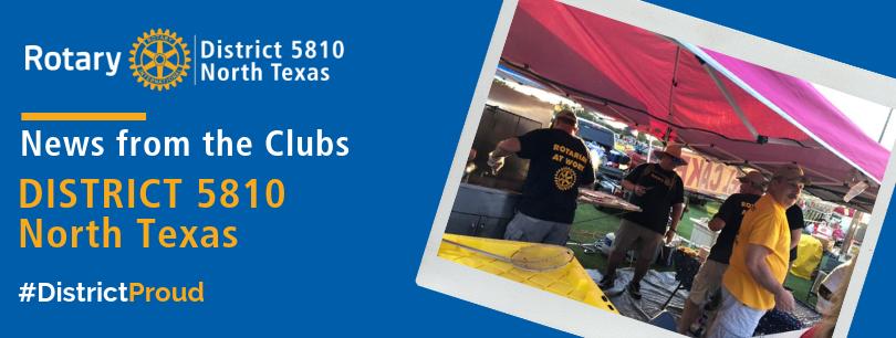 RD 5810 North Texas - August 2019 Newsletter (Jul 29, 2019)