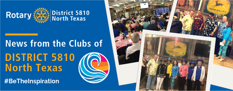 RD 5810 North Texas - May 2019 Newsletter (May 29, 2019)