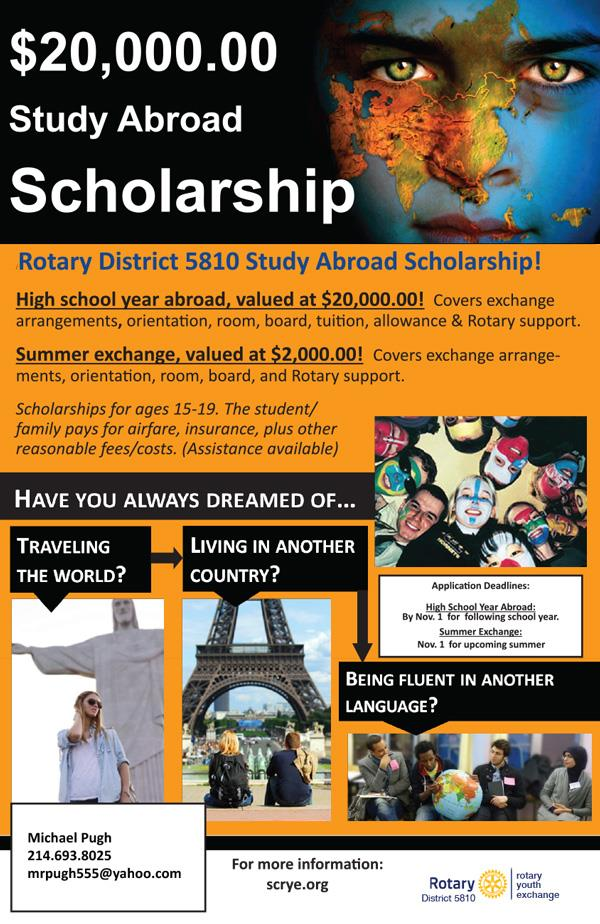 study abroad scholarship