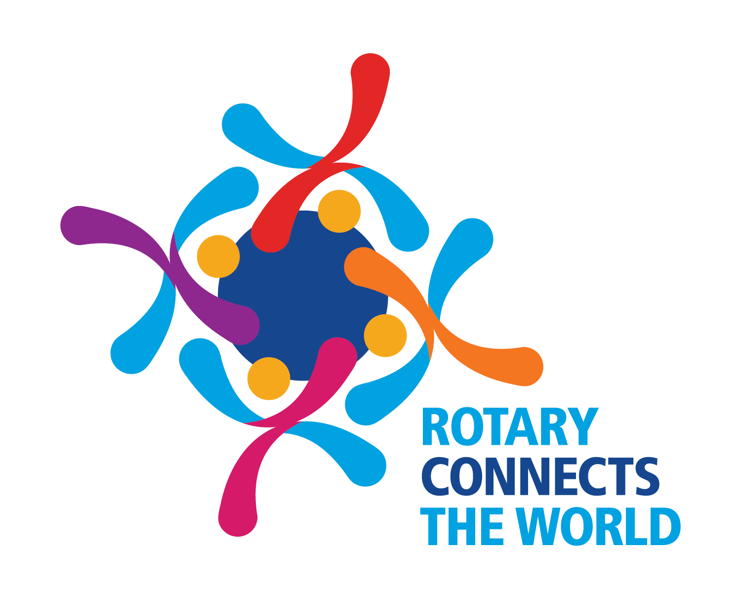 Image result for rotary connects the world logo
