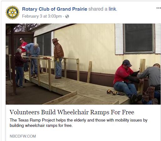 Volunteers Build Wheelchair Ramps For Free
