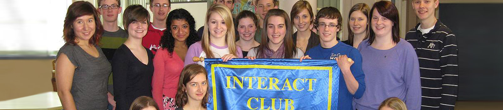 HIGH SCHOOL STUDENTS JOIN INTERACT