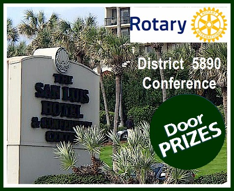 Just one of the MANY benefits of attending our upcoming District Conference will be an assortment and variety of cool door prizes at all the sessions! & Lotsa Cool Door Prizes to Win at District Conference April 28 ...