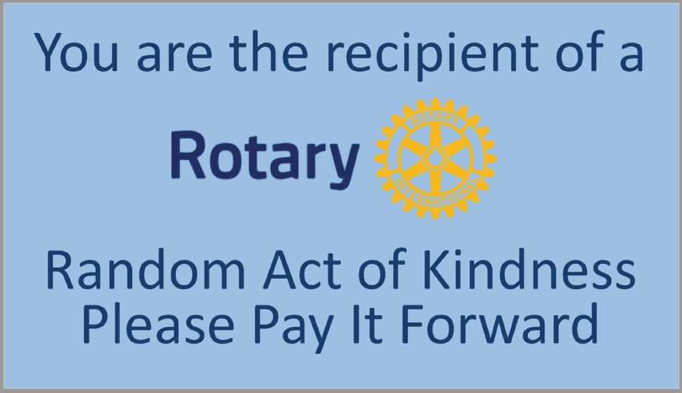 Randon Acts Of Kindness Card Template Rotary District 6440
