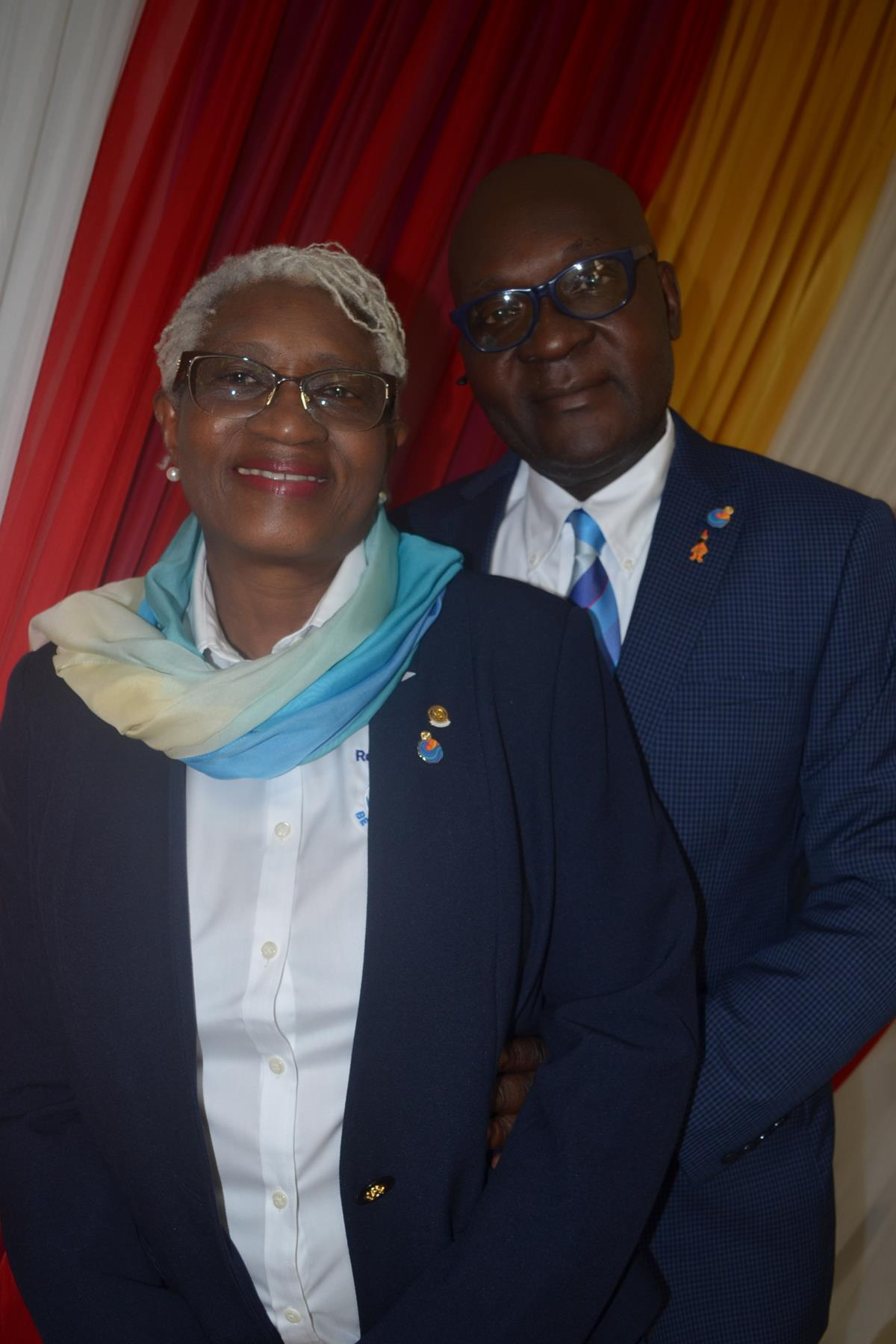 Picture of DG Patrick and his wife