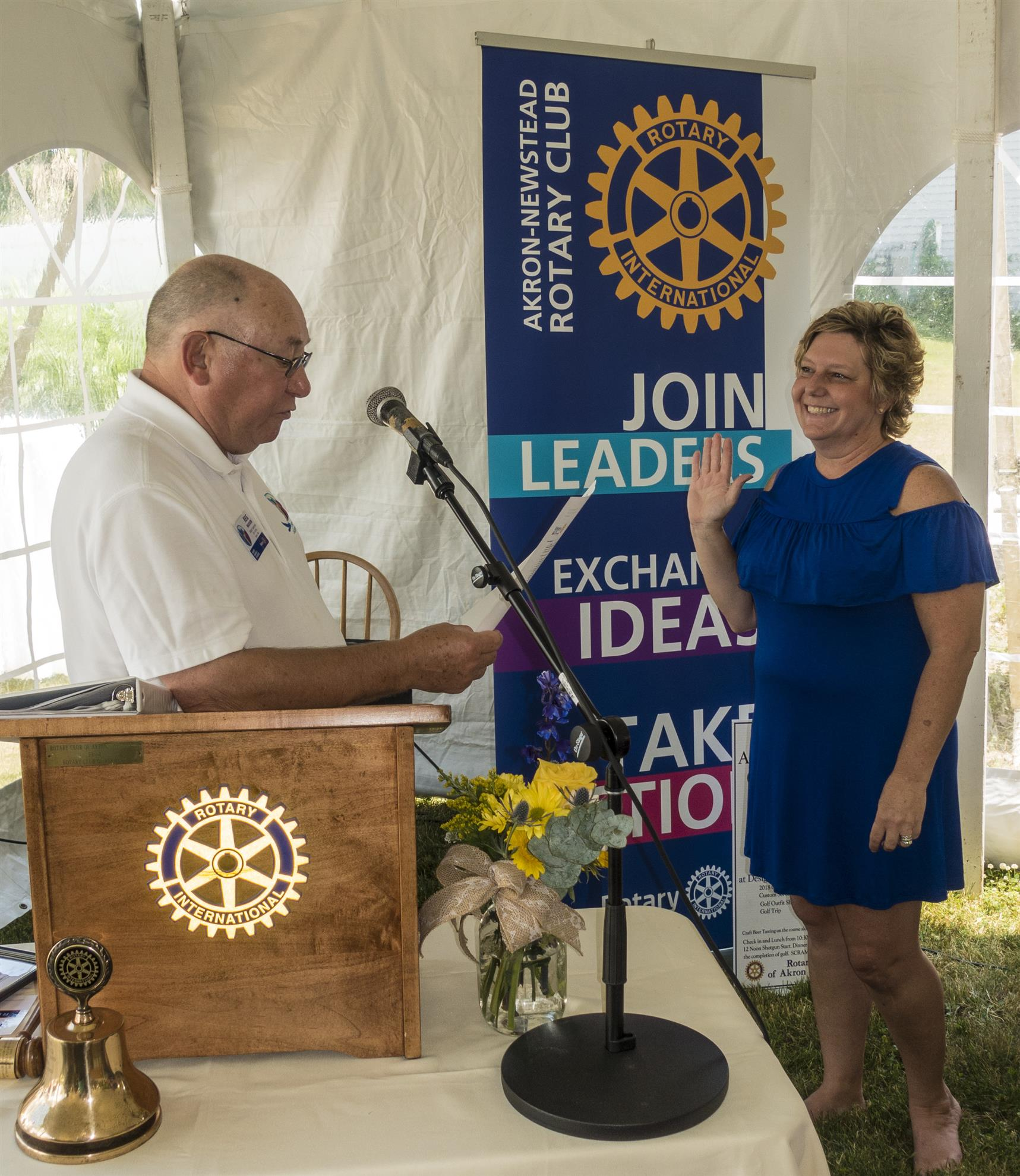 Stories Rotary District 7090 Dont Miss Other Custom Furniture And Circuit Art Projects Seen Here Is The Property With Rotarians A Small Planet On Beautiful Day For Changeover Thanks Paul Mcafee Photos Yes