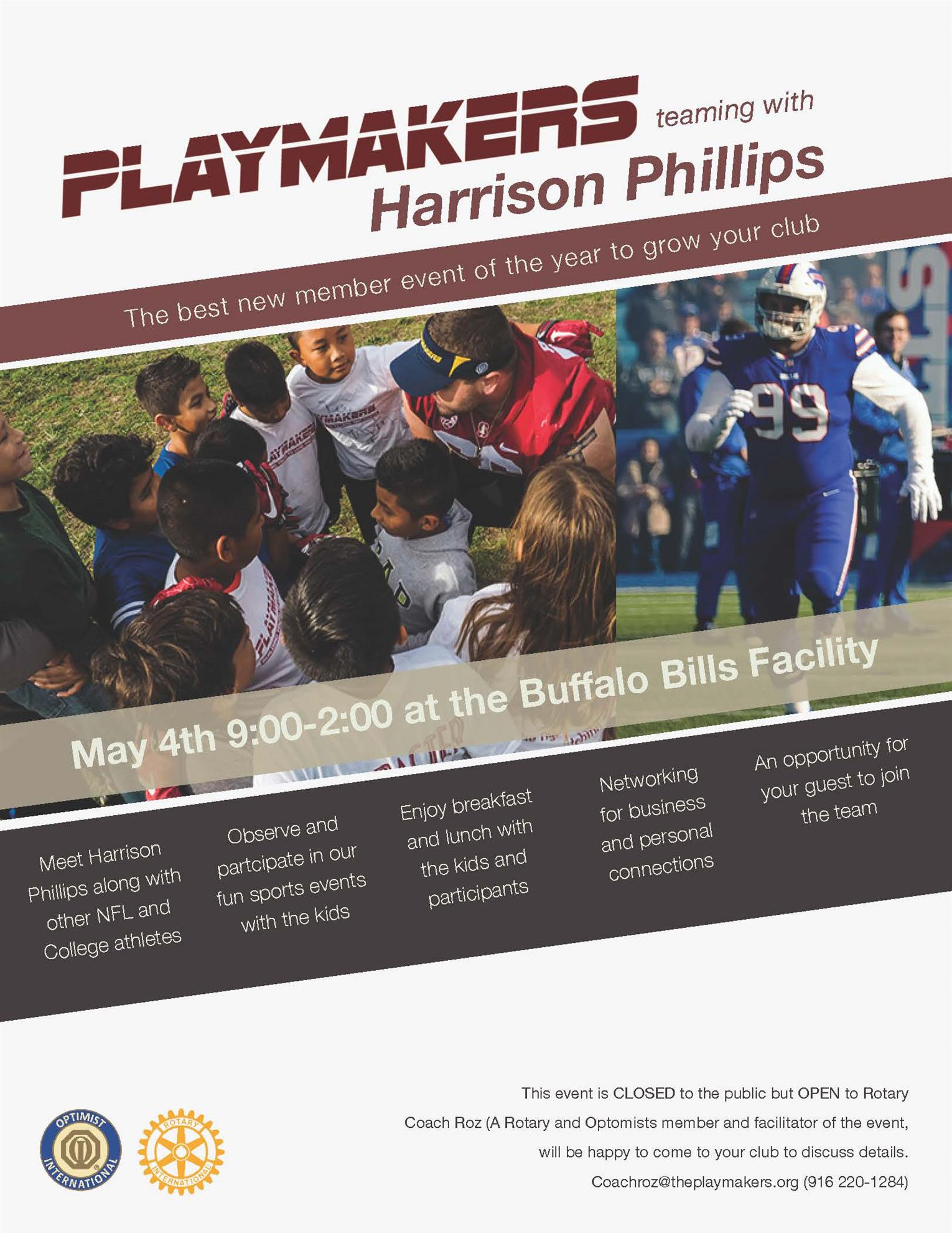 a5f9da37e66a HARRISON S PLAYMAKER SPONSORSHIP PACKAGES