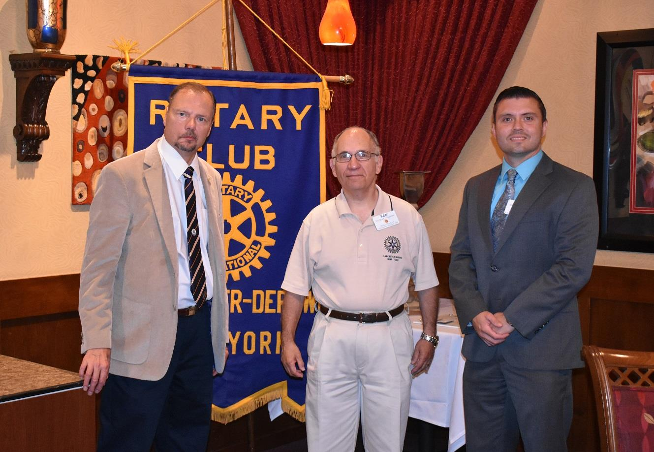 Stories Rotary District 7090 Dasi Neck Tie Slim Polos Wedding Best Man Square Orange Black Club Of Lancaster Depew Held The First Meeting Their New Year On Thursday Shown Above Are Robert Benzel Immediate Past President With