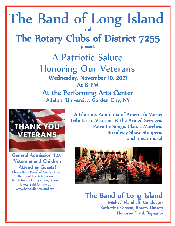 Tribute to Veterans Concert