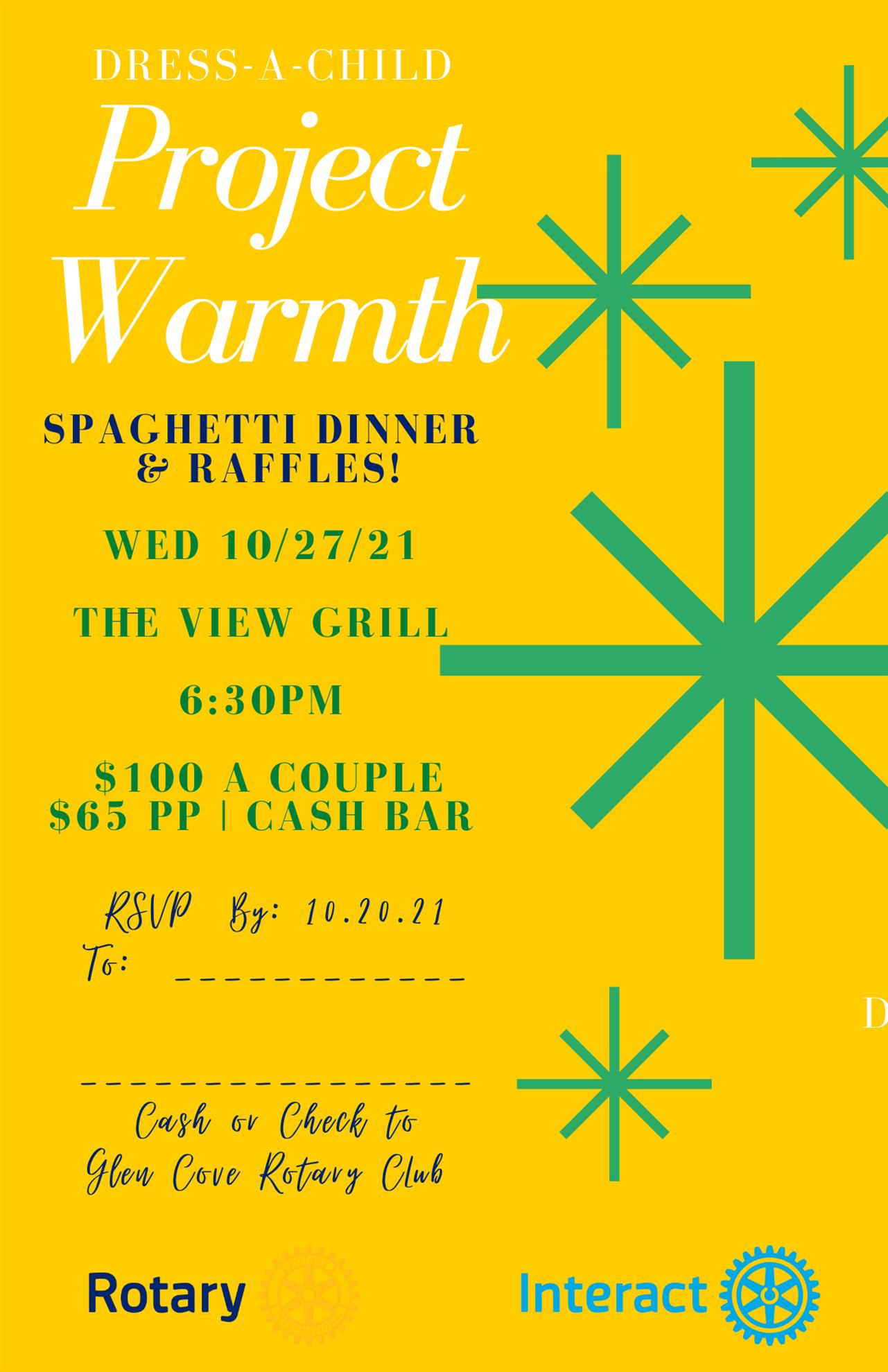 Dress-A-Child Spaghetti Dinner