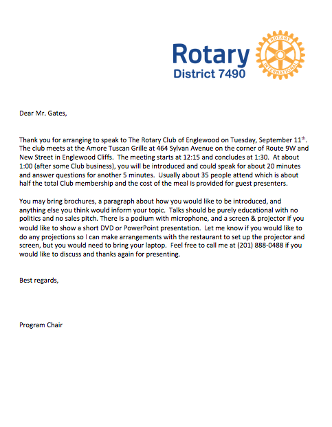 Tips for program chairs rotary district 7490 sample classification talk letter download copy to modify stopboris Gallery