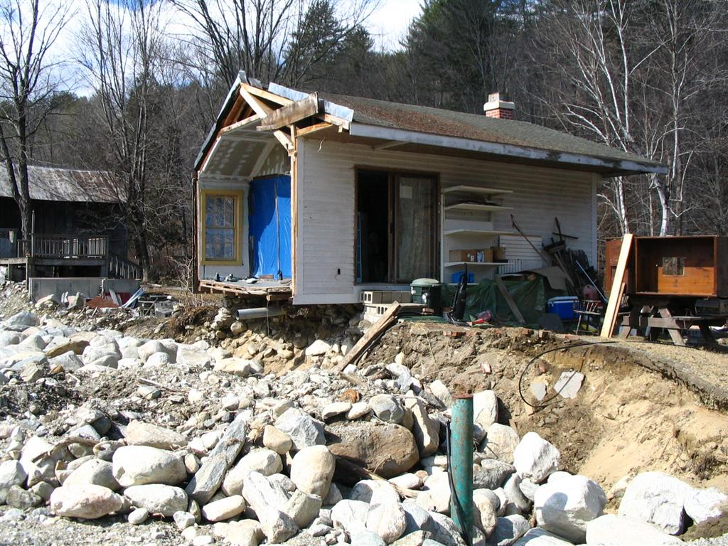 Home Damaged by Flood