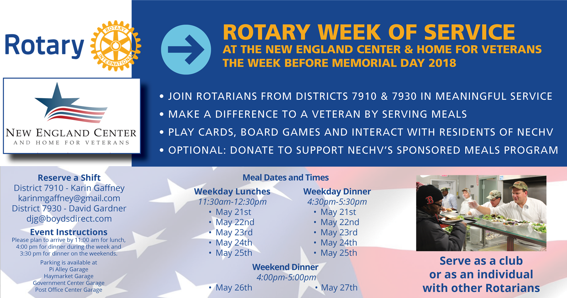 Week of Rotary - Make a Difference to Veterans | Rotary