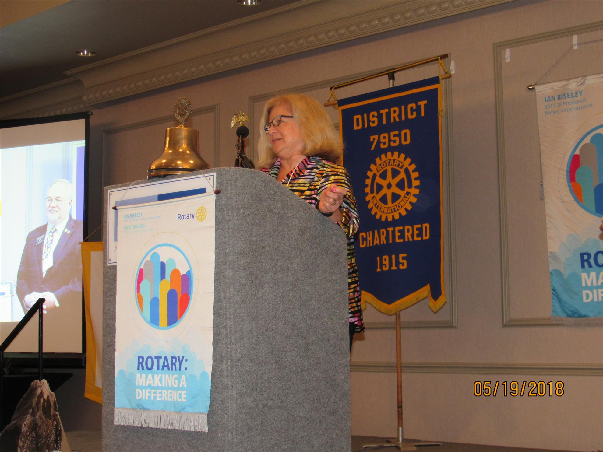 A tribute to 50 years of Rotaract - Beth Leconte