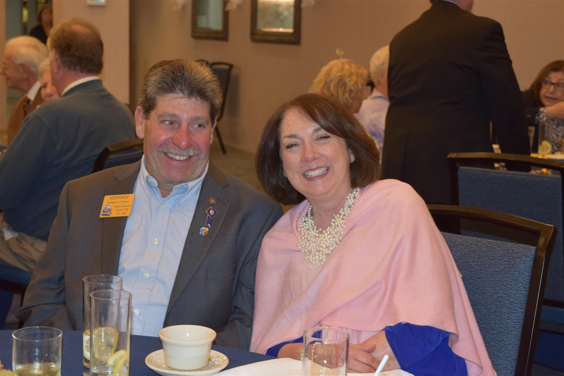 DG Steve Certa and First Lady Paula