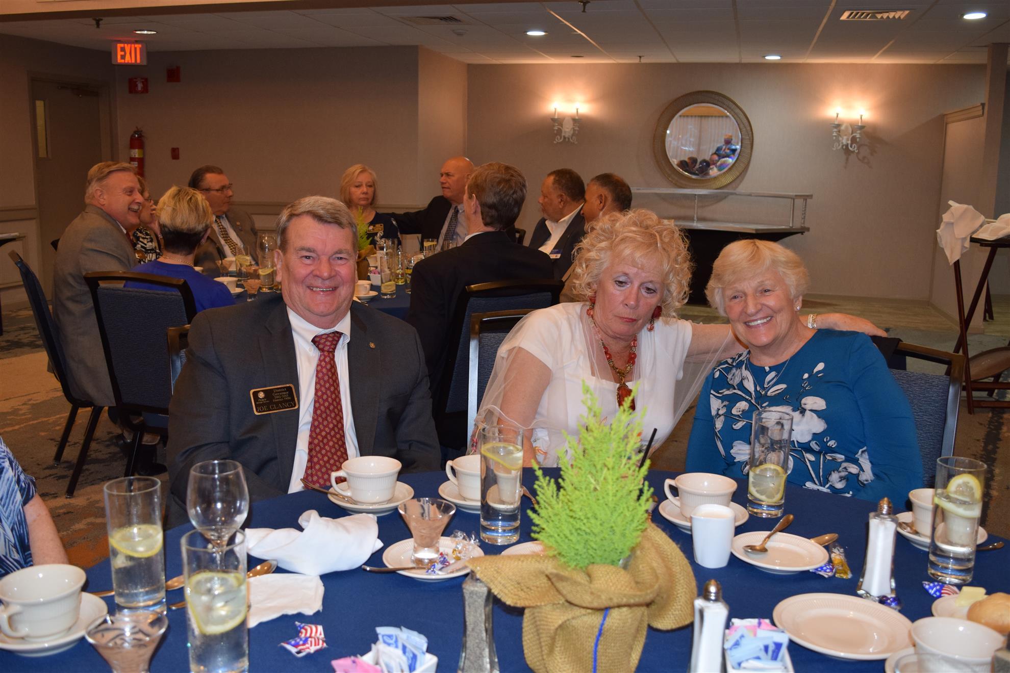 PDG Joe Clancy, Geraldine & Bobbie Welch