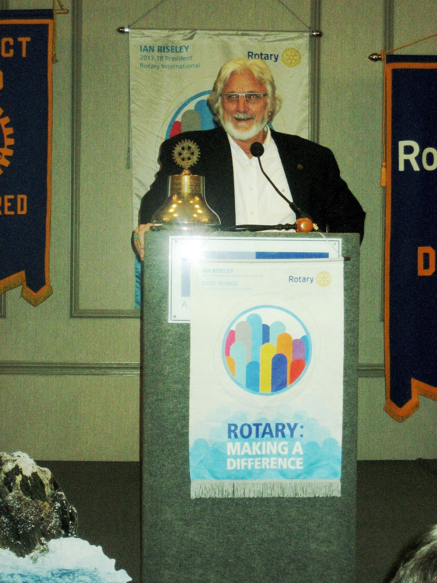 RI Director Jeffery Cadorette inspires all to make changes