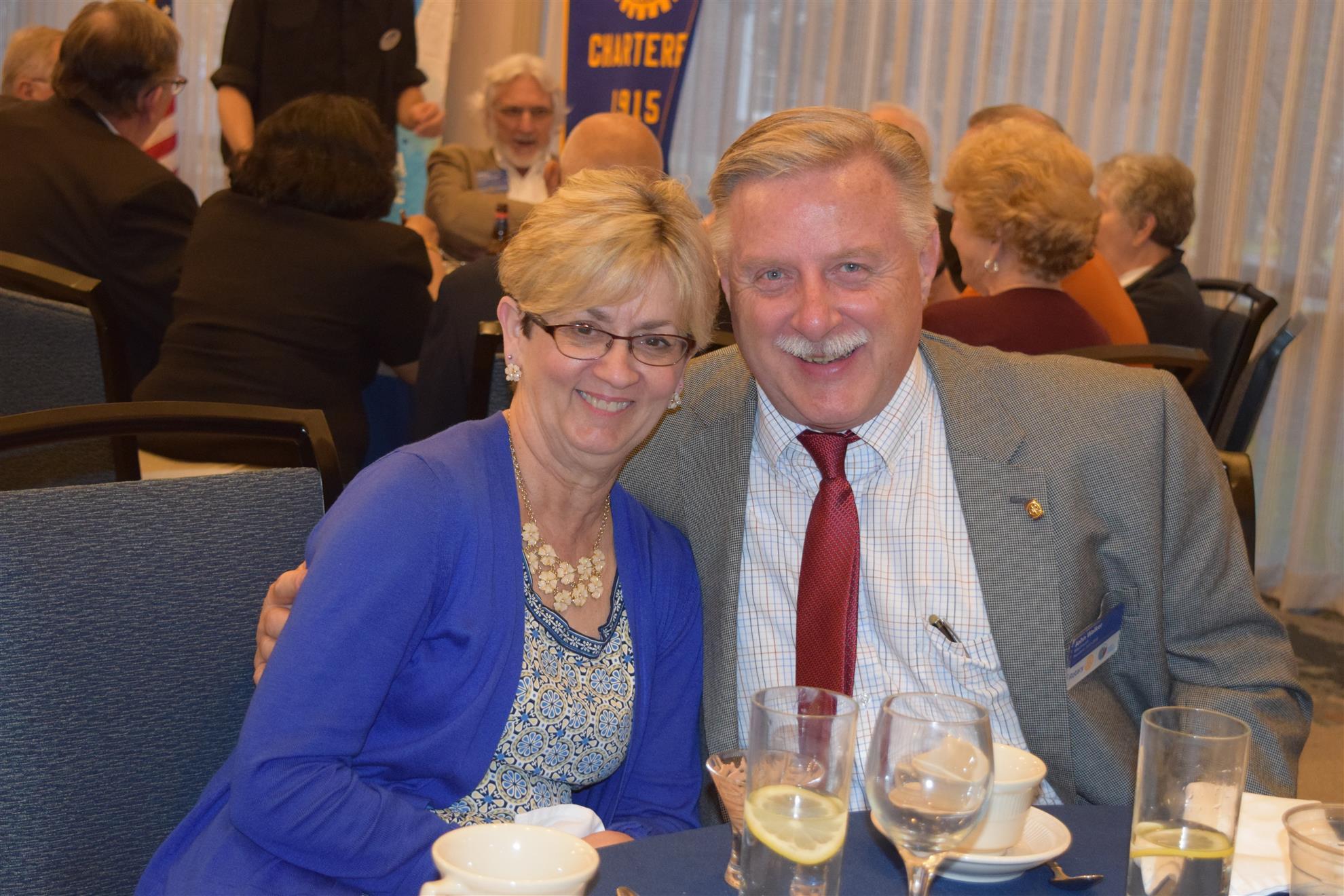 Weymouth Pres. Jay Walker & Diane