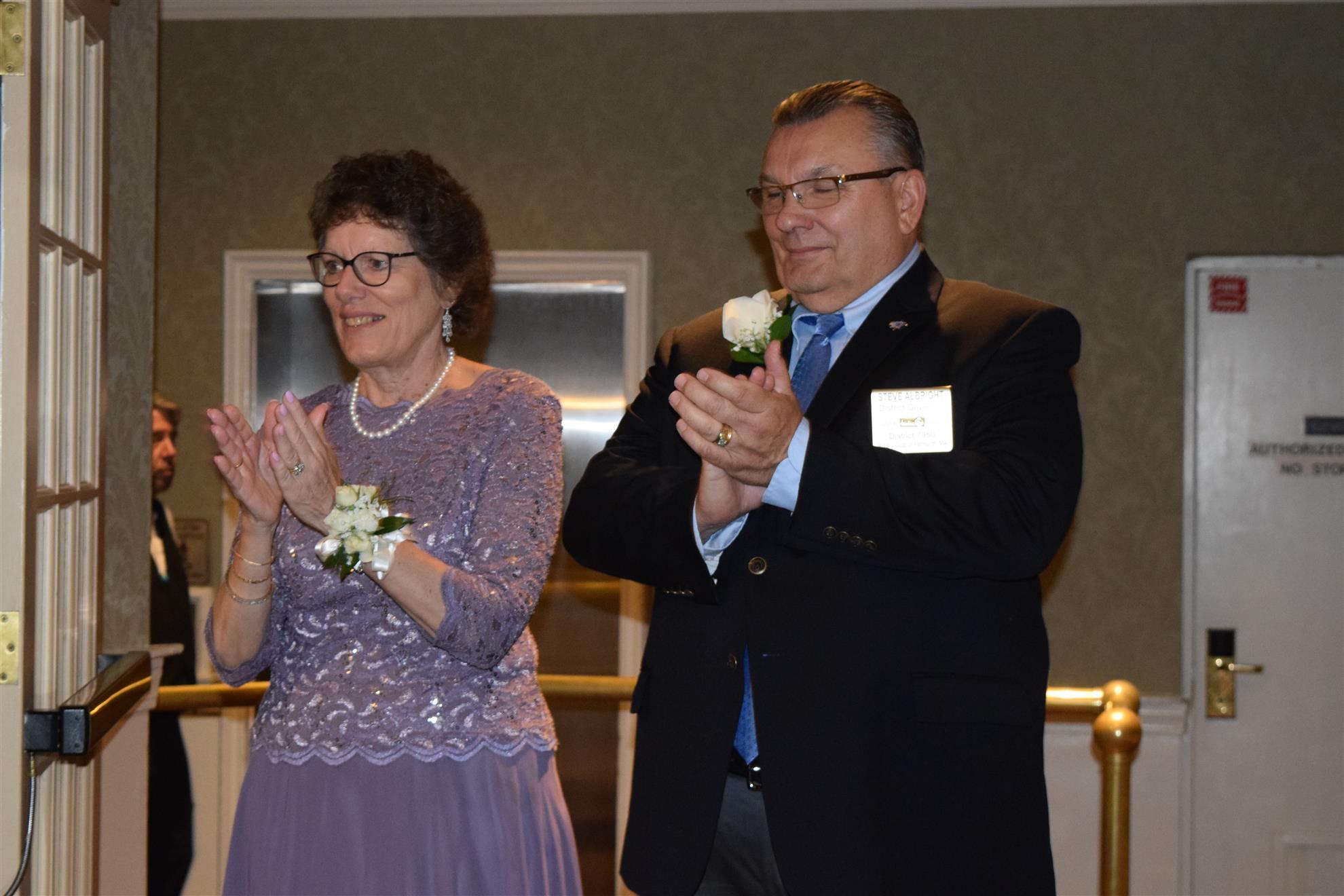 DG Steve Albright and Jill