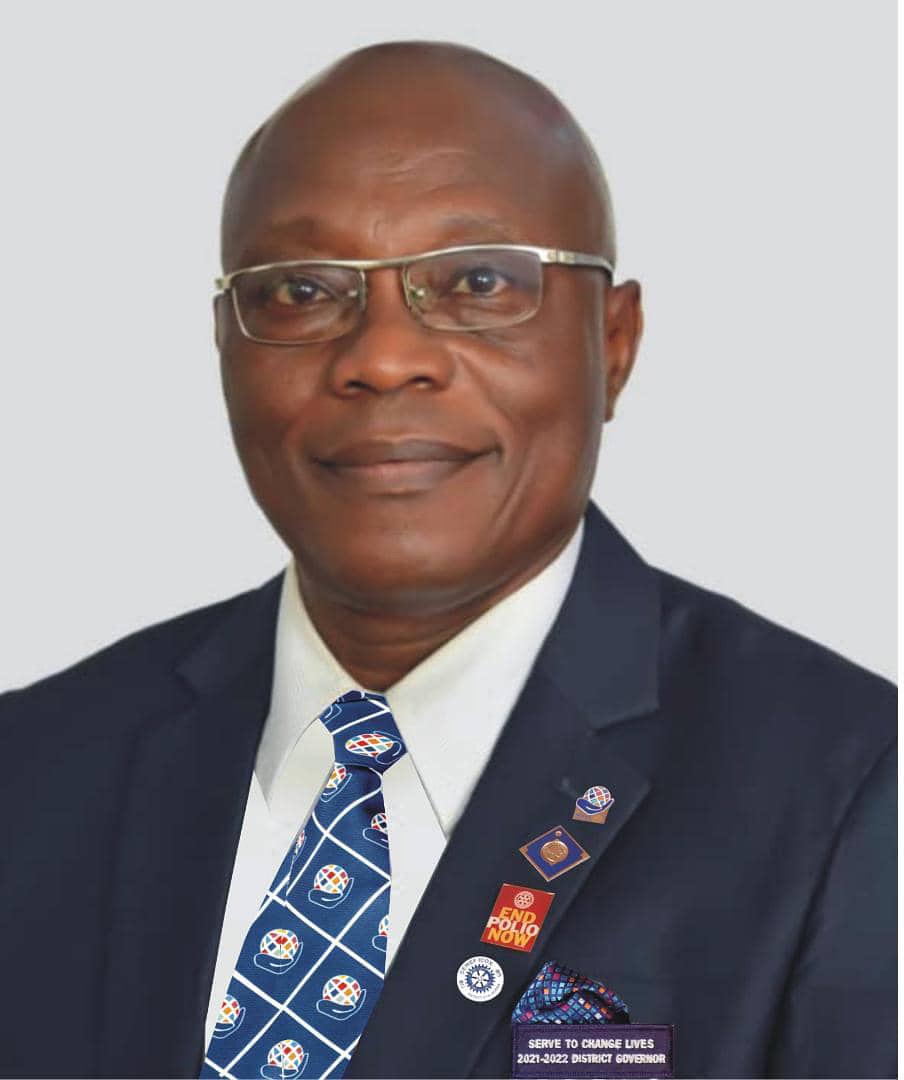 "Meet ""CHANGE MAKER"" District Governor Remi Bello, FCA"